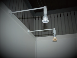 LEDアームスポット(灯体白) 昼光色・電球色