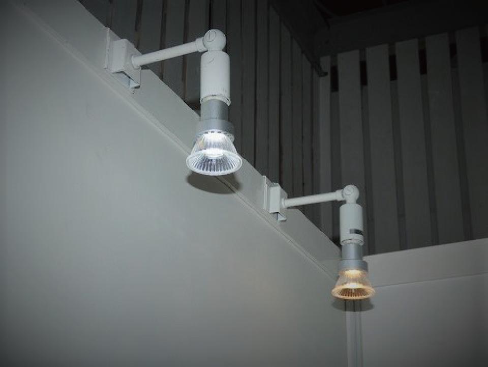 LEDスポット(灯体白) 昼光色・電球色