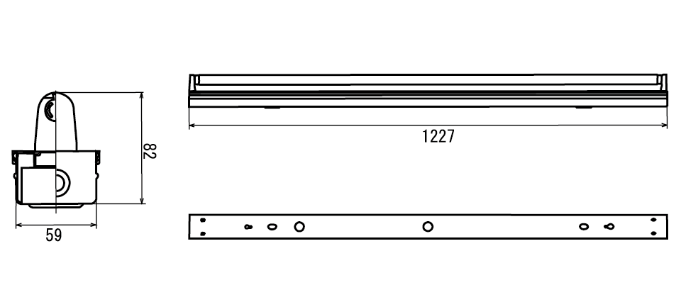 蛍光灯HF32W(昼光色・電球色)補足図