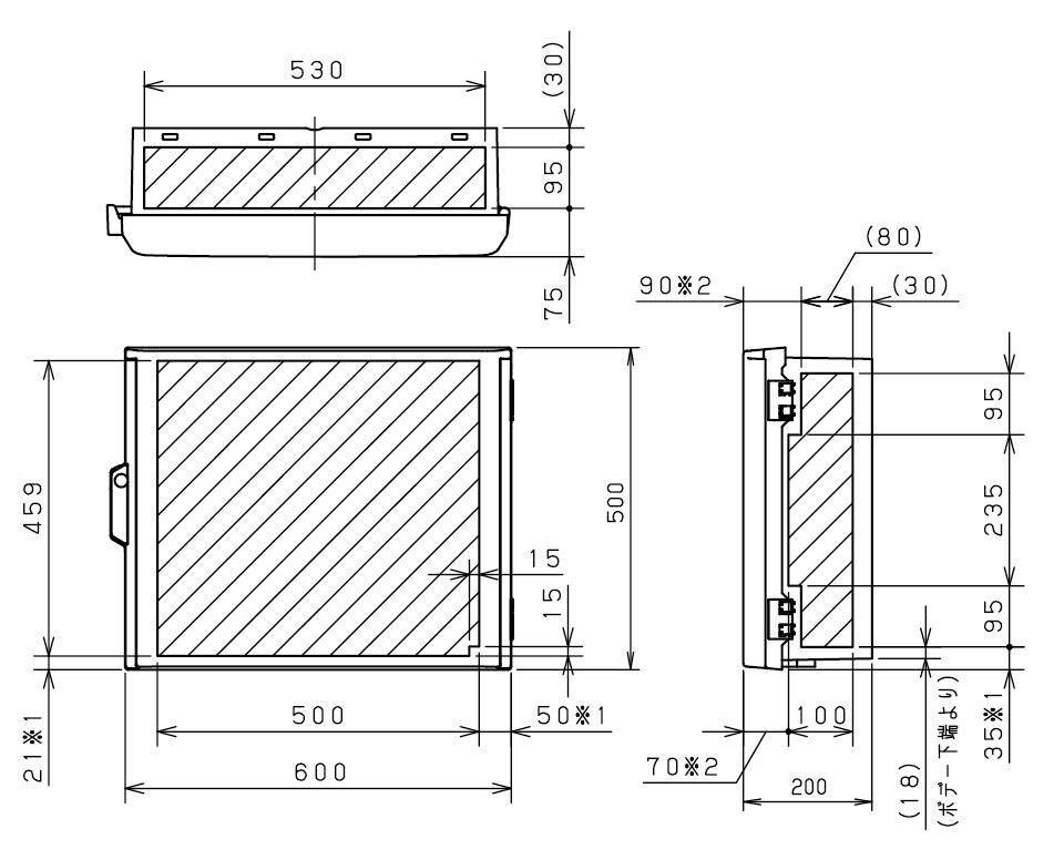 3相3線式動力200V分電盤補足図